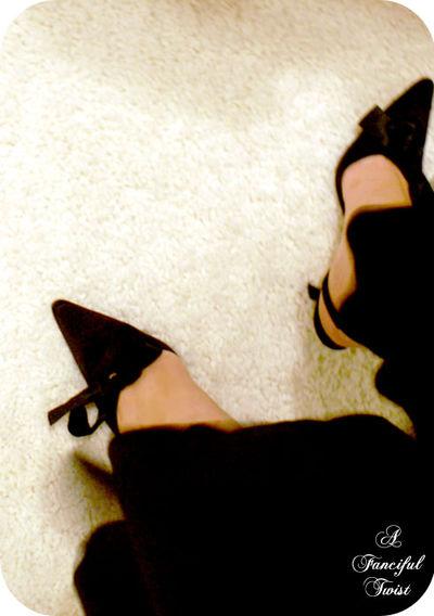 Pretty fragile shoes