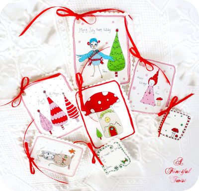 Free holiday gift tags fixed
