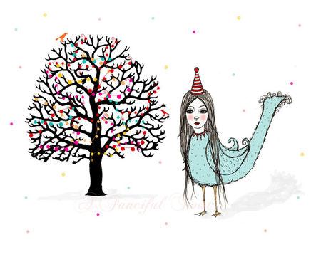 W Little Tree Party