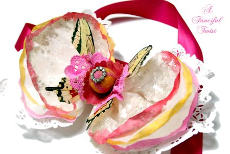 Coffee filter corsage 3