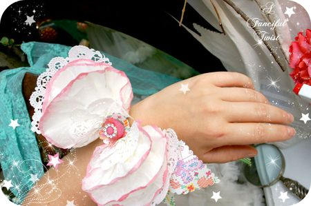 Coffee filter corsage 15