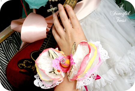 Coffee filter corsage 18