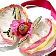 Coffee filter corsage