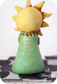 Charlotte Custard Cake Back
