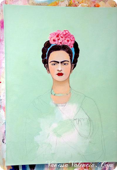 Vanessa Valencia Frida Mariposa 7