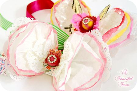Coffee filter corsage 20a