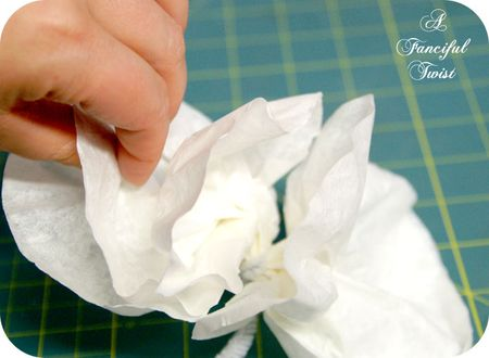 Coffee filter corsage 8