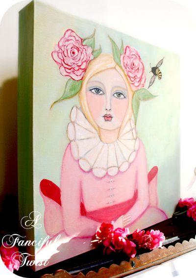 Bee girl 8