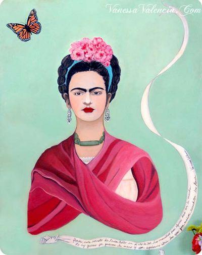 Vanessa Valencia Frida Mariposa 2