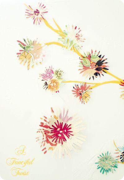 Wall flower 6