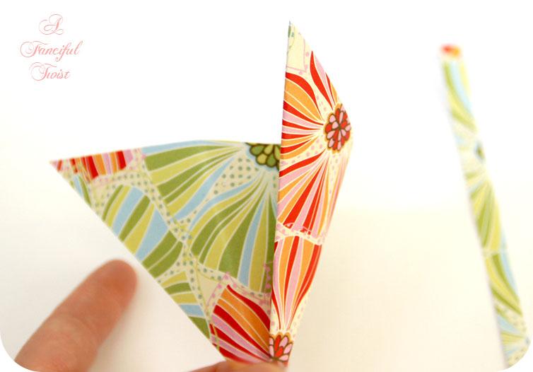 Paper flower chandelier 10
