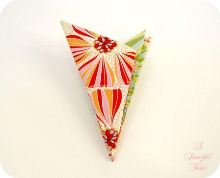 Paper flower chandelier 11