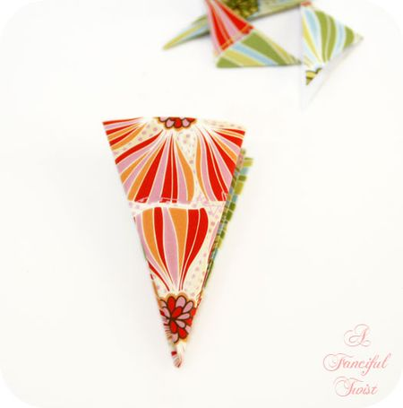 Paper flower chandelier 13