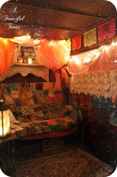 In the gypsy wagon 10