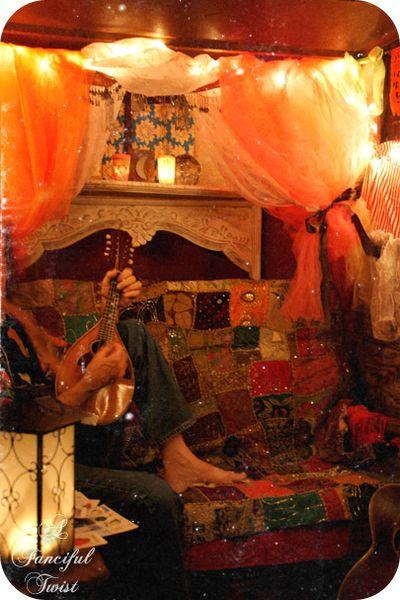 In the gypsy wagon 11
