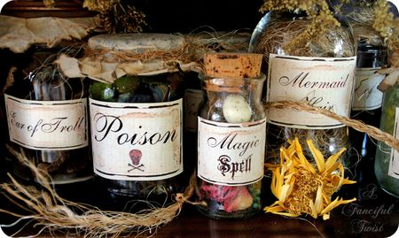 Potion labels 2