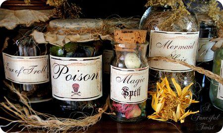 Potion labels 2