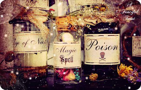 Potion Labels 8