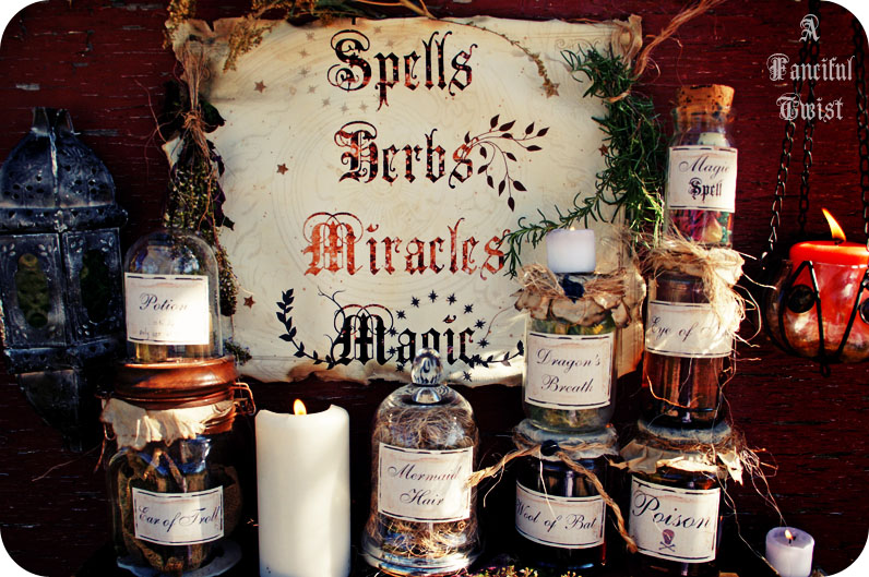 Potions spells and herbs 21