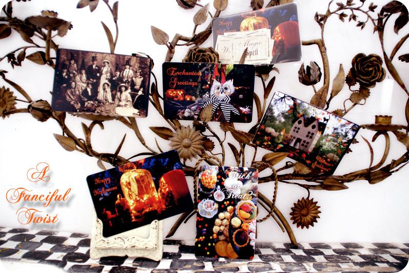 Magical Halloween cards