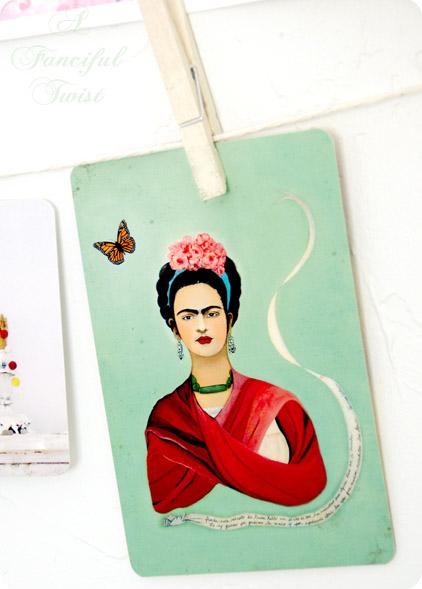 Frida Kahlo Greeting Card 1