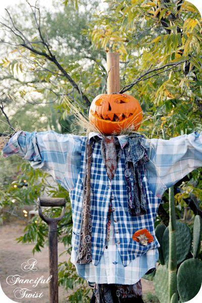 Happy Halloween Scarecrow 5