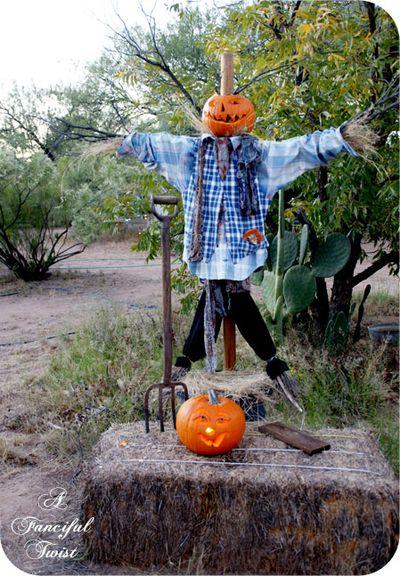 Happy Halloween Scarecrow 7