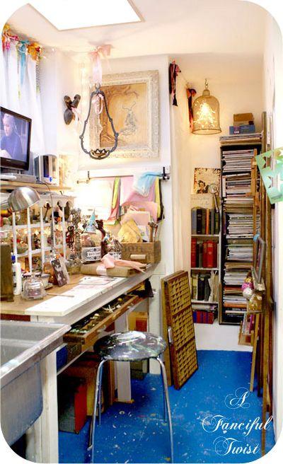 Vanessa Valencia Studio south nook