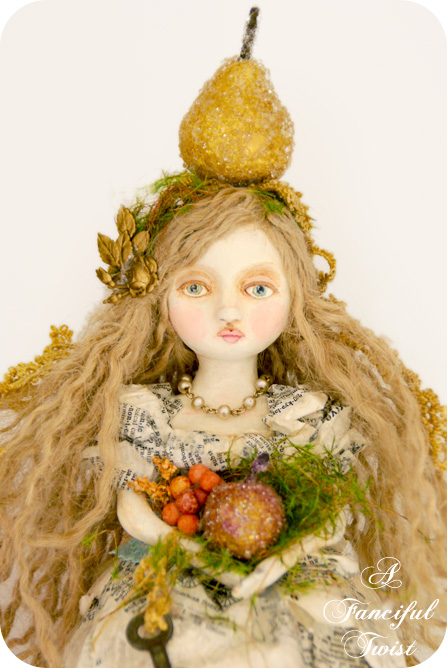 Girl with the Golden Pear 3