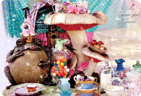 Mad Tea Party Of Toadstool and Sweets Front