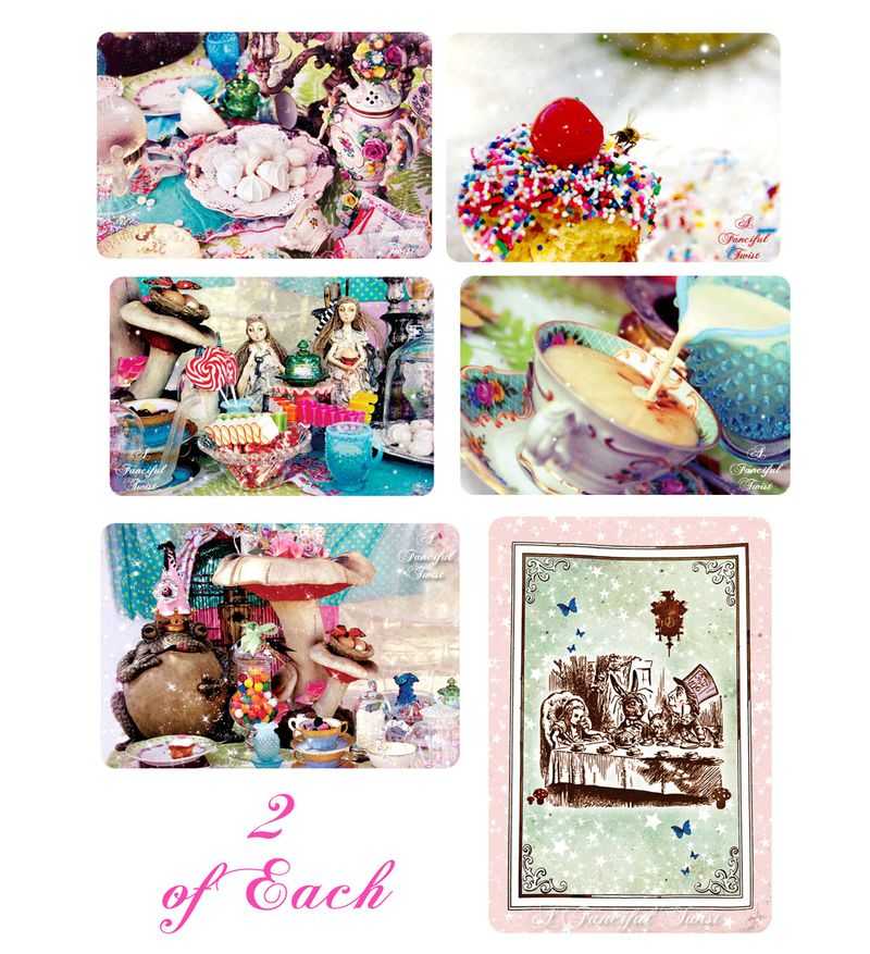 Mad Tea Party Assorted Cards