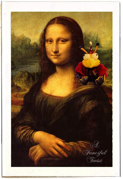 Postcards from Milo 4 mona lisa wikipedia