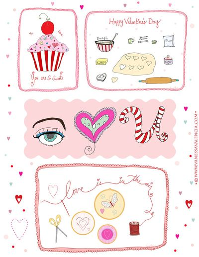 A Fanciful Twist Valentines - Bake Sew Sweet Blog