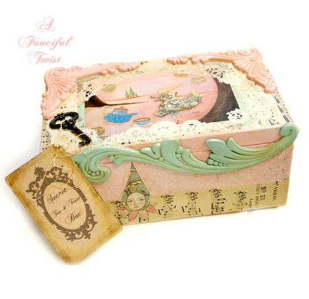 Tea and sweets box