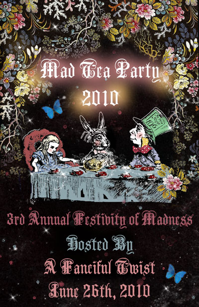 Mad Tea Party flyer 2010