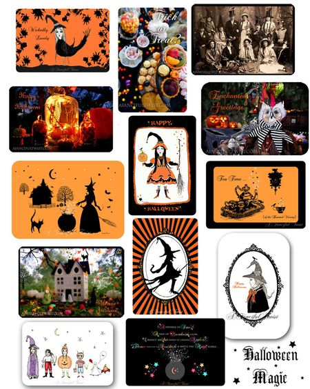 Halloween ALL cards medley
