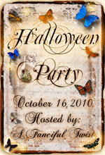 A Fanciful Twist Halloween Party!!