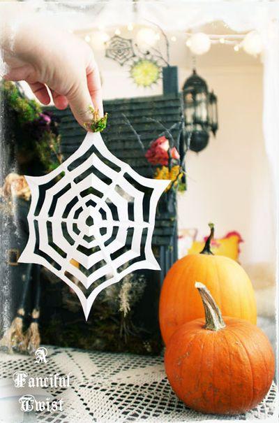 Paper spider web 19