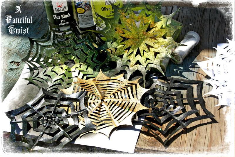 Paper spider web 39