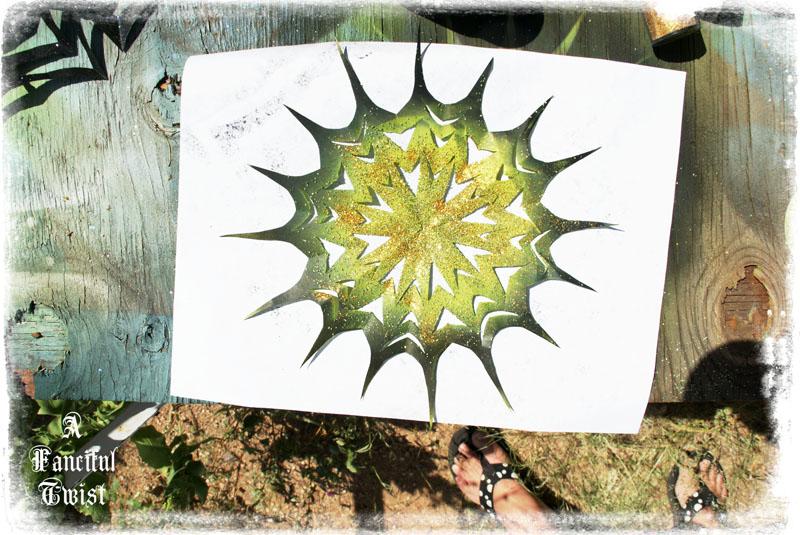 Paper spider web 43