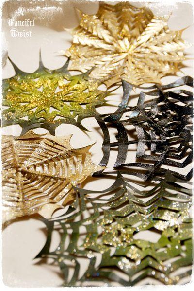 Paper spider web 45