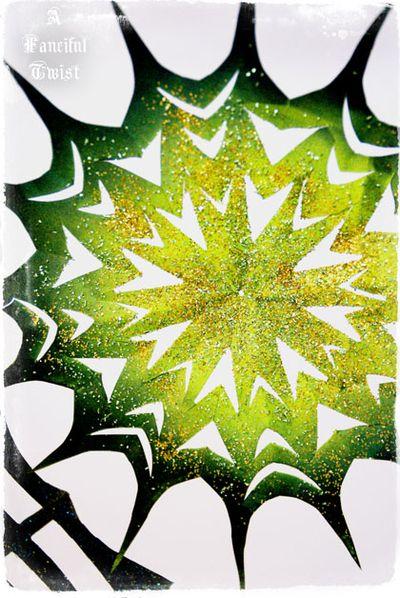 Paper spider web 46