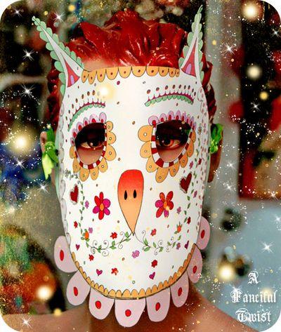 Printable mask 4