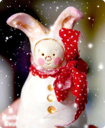 Christmas Bunny 6