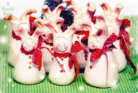 Christmas Bunny 2