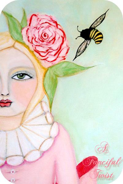 Bee girl 7