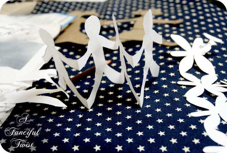 Paper Doll Garland 16