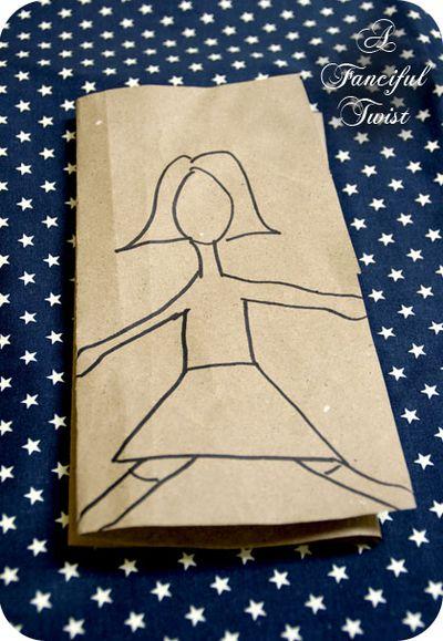 Paper Doll Garland 23