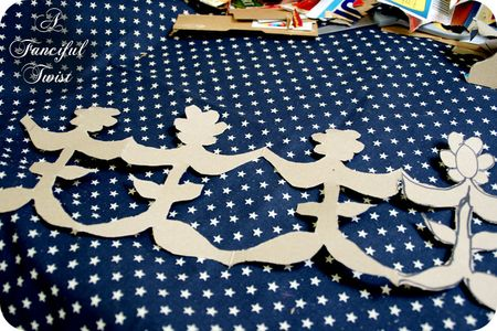 Paper Doll Garland 6
