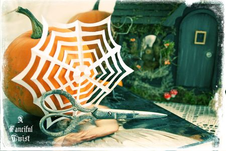 Paper spider web 1
